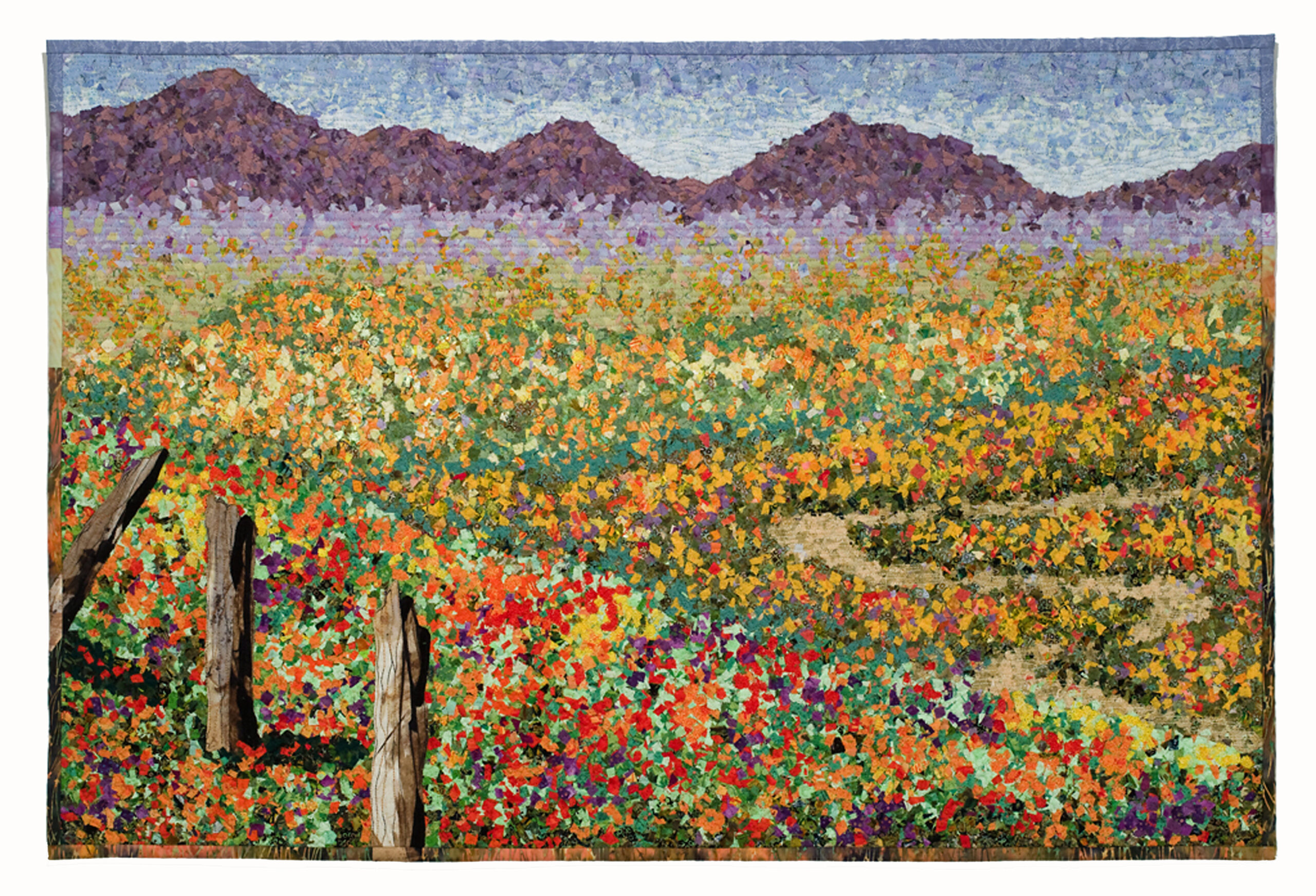 Stitching California: Fiber Artists Interpret the State's People, Life and Land