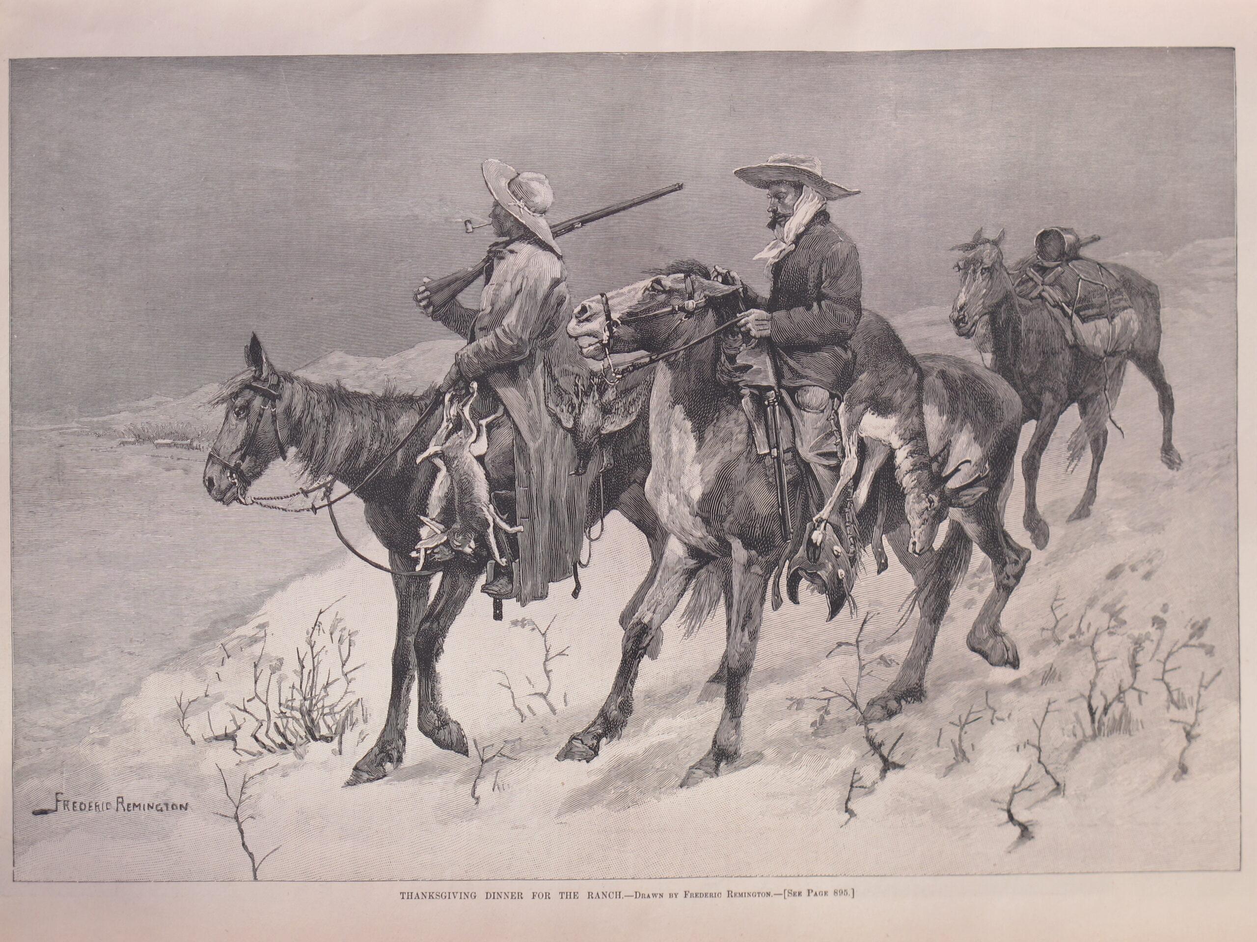 Frederic Remington Engravings